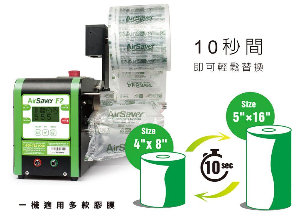 AirSaverF2一機適用多款膠膜
