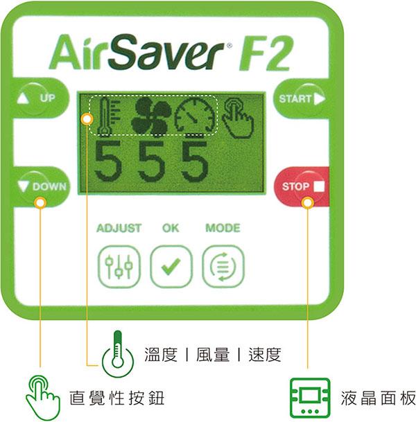 AirSaverF2操作面板